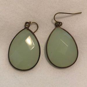 Anthropologie teardrop earrings